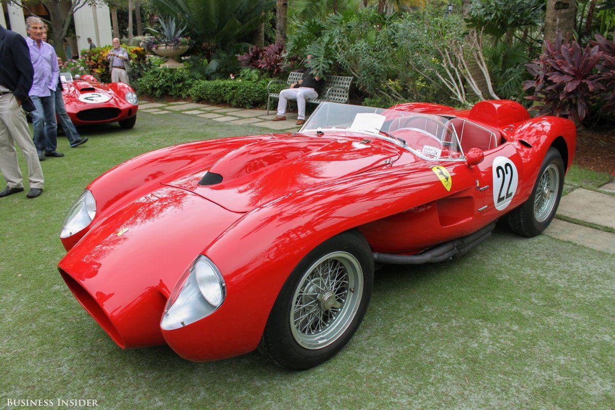 We Saw An Incredible Collection Of Ferraris In Palm Beach This Weekend Ferrari Top Sports Cars Ferrari Testarossa