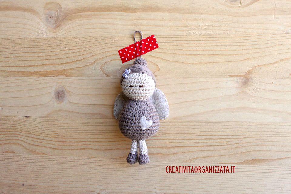Tutorial Angioletto Amigurumi : Schema per angioletto a uncinetto cucito creativo amigurumi