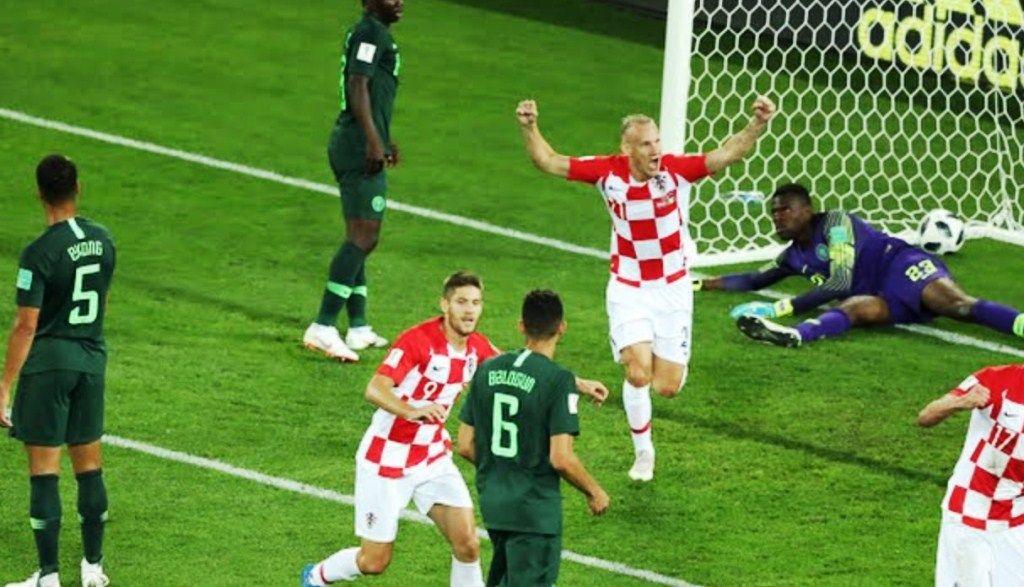 Hasil Pertandingan Piala Dunia  Kroasia Vs Nigeria