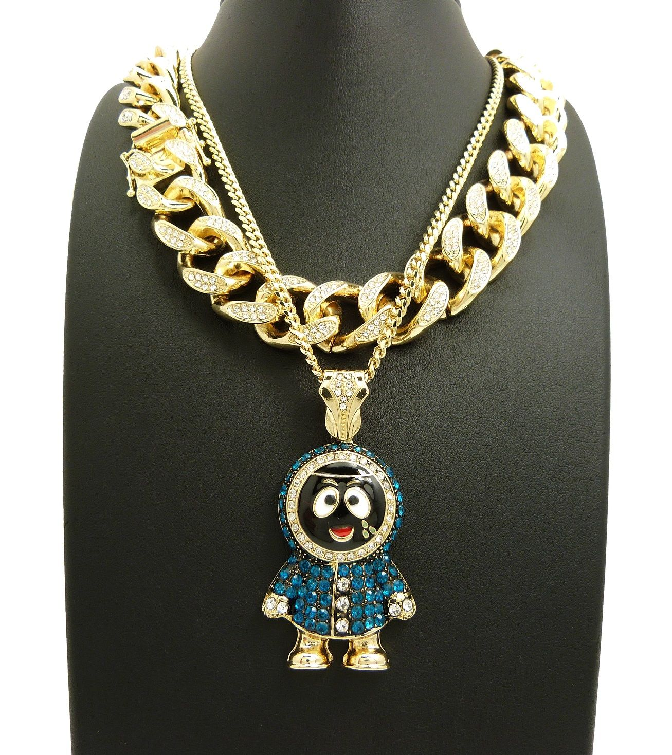 Wine Jianxian Mountain Bear Cross Pendant Jewelry Zinc Alloy Prayer Necklace For Men Women With Necklace,24 Inch