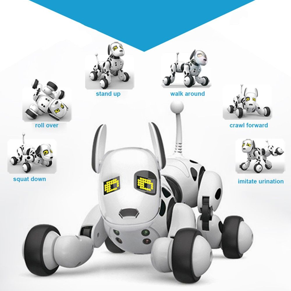 Toys & Hobbies Electronic Pets Motivated 2.4g Wireless Remote Control Smart Dog Electronic Pet Educational Childrens Toy Dancing Robot Dog Without Box Birthday Gift