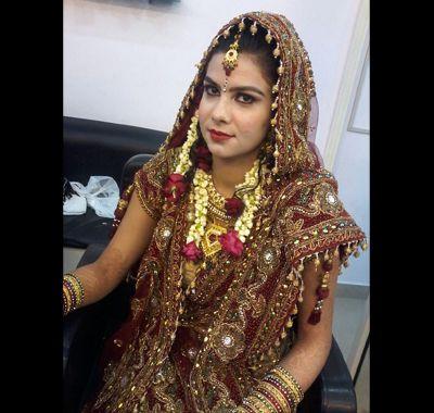 Bridal Makeup Done By Ritu Thakur In Rajnagar Ghaziabad