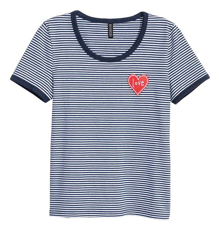 T-shirt s duhovitim detaljima