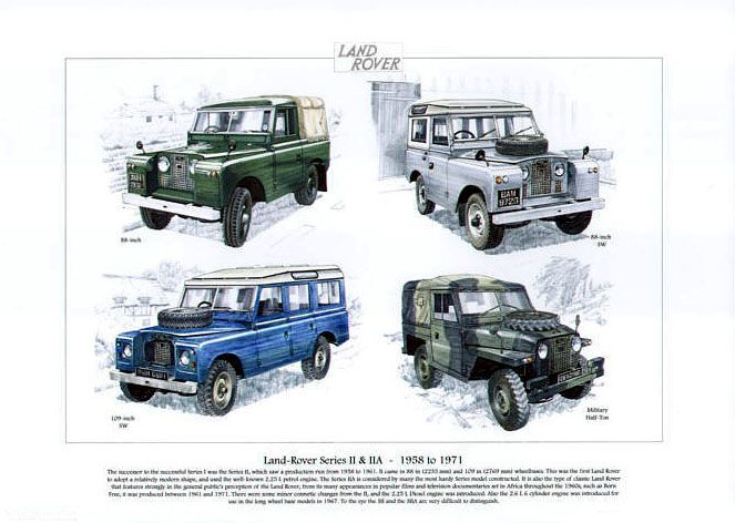 series 2 land rover - Google Search