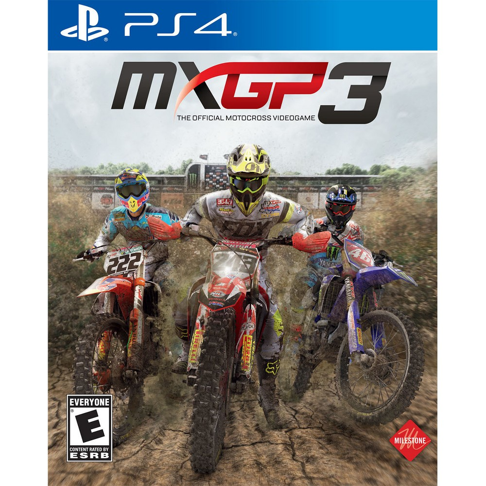 Mxgp 3 The Official Motocross Videogame Playstation 4 Games For