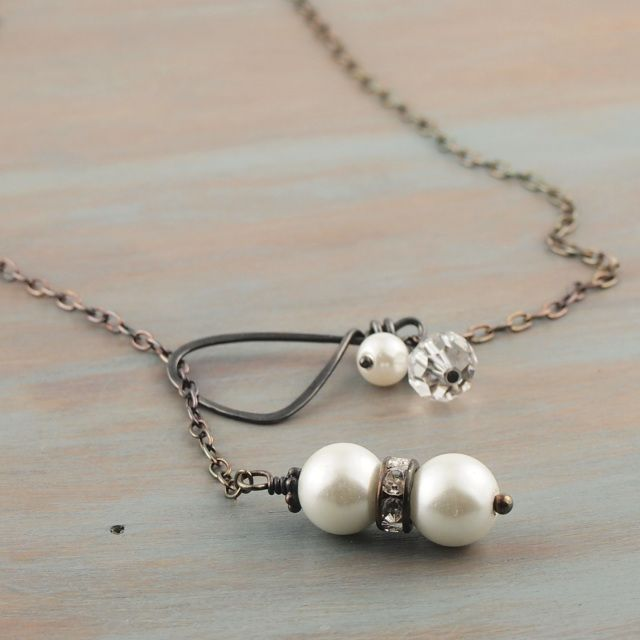 Necklaces Chokers Lariats For Women Pearl Spring Wedding