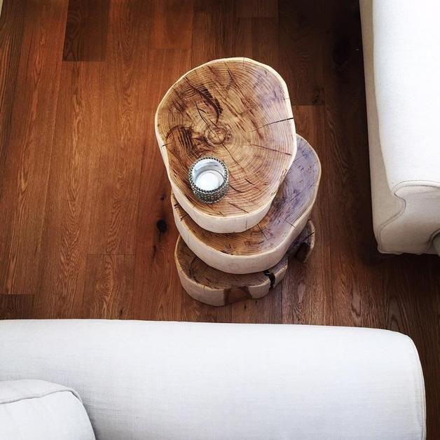 Beistelltische - whitecad amsterdam - ein Designerstück von holzATherz bei DaWanda