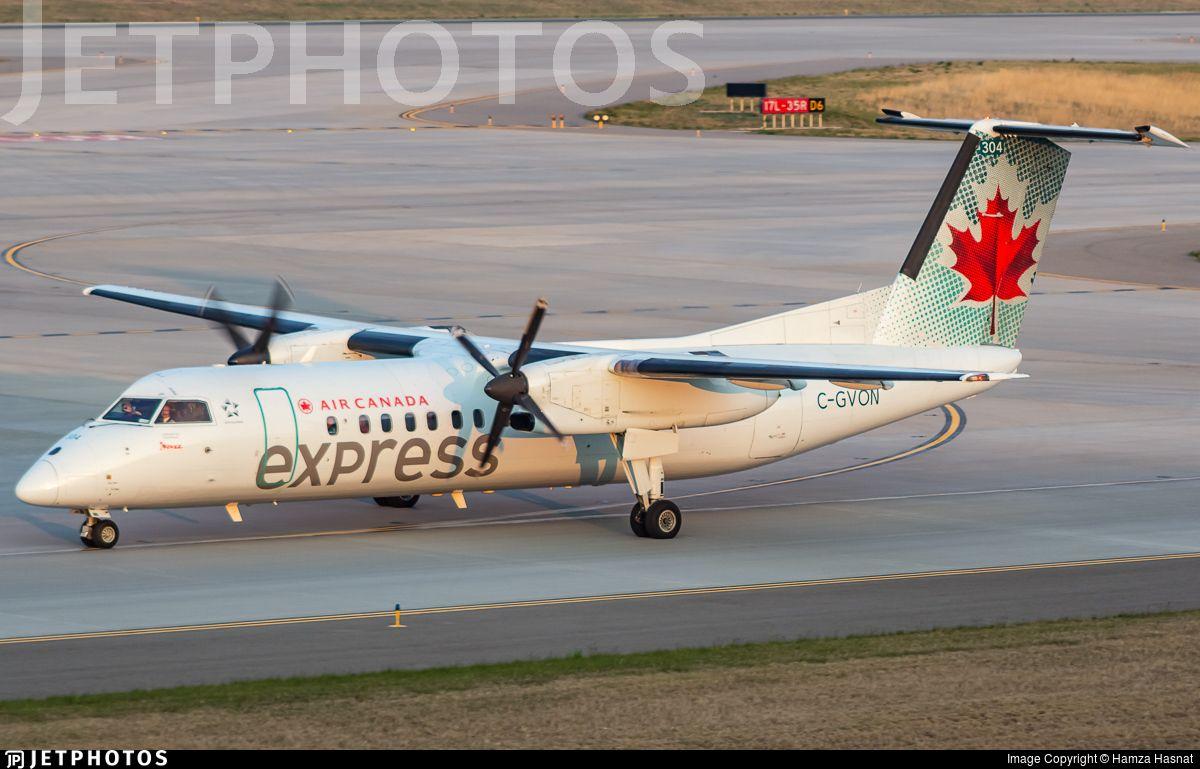 CGVON in 2020 Calgary international airport, Aircraft