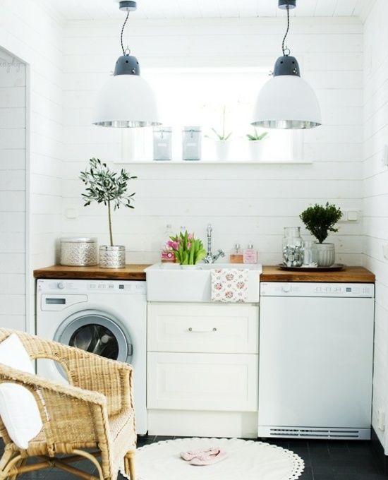 weiße waschküche-design idee | home | pinterest | weiße, Kuchen
