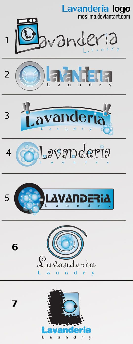 lavanderia logo by moslima