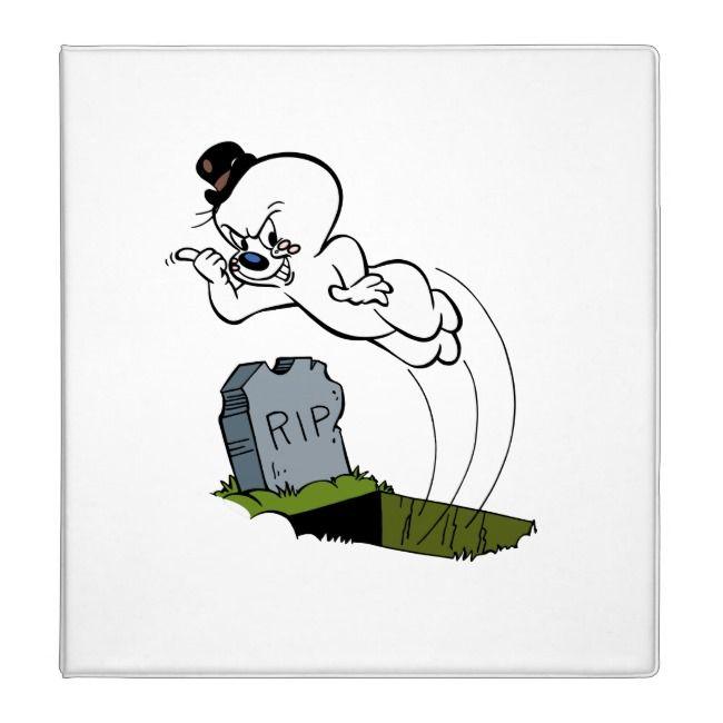 Spooky Graveyard Binder