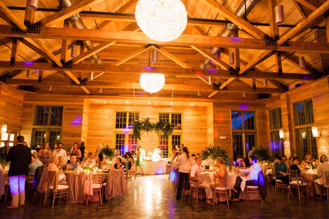 Wedding Reception In The Lakehouse At Watercolor Inn Resort