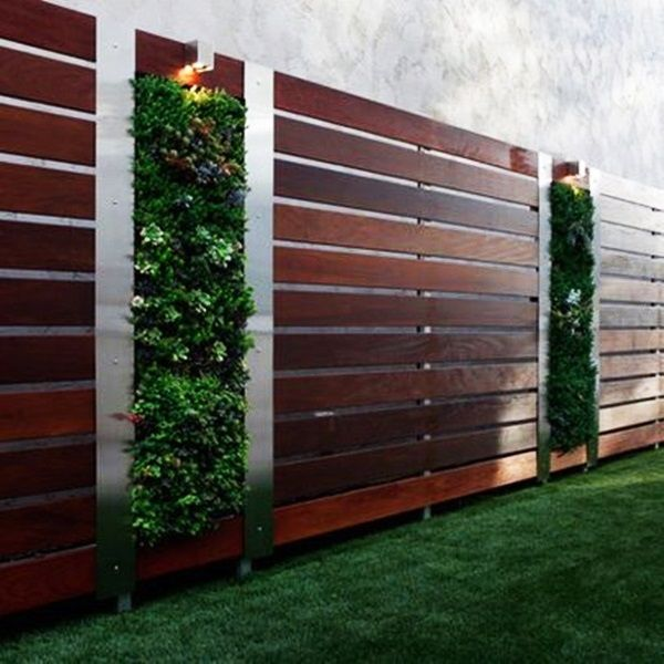 Backyard Garden Fence Decoration Makeover Diy Ideas Garden