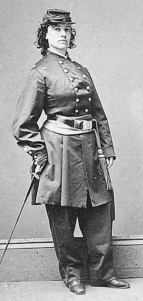 June 10th Born Today 1833: Civil War spy for the Union Army, Pauline Cushman. She was awarded the rank of Brevet-Major by General Garfield and commended by President Abraham Lincolnfor her service to the union cause, and became known as Miss Major Cushman.