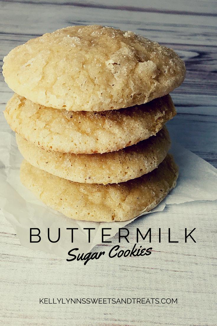 Buttermilk Sugar Cookies Kelly Lynn S Sweets And Treats Recipe Buttermilk Recipes Recipes Easy Smoothie Recipes