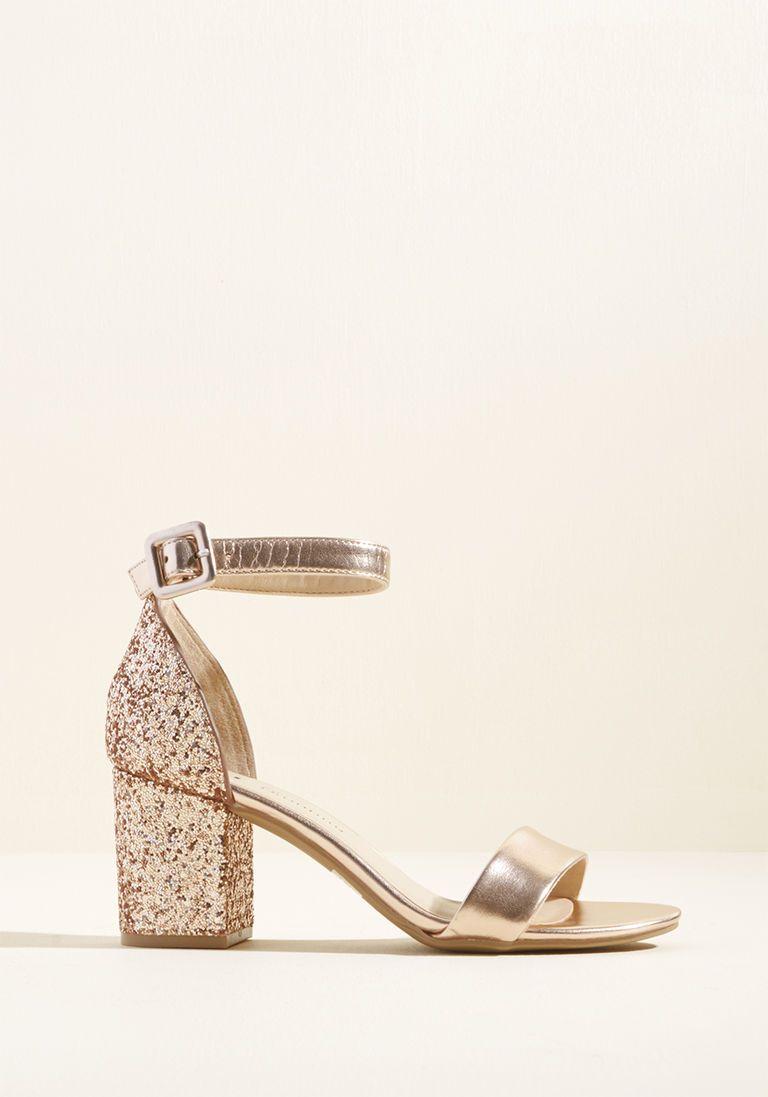 924d6960093 We ve Got the Function Block Heel in Rose Gold in 7