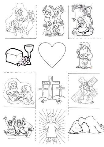 Semana Santa | Actividades de Biblia | Pinterest | Religion, Sunday ...