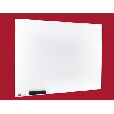 egan visual egan presentation boards aluminum square frame dry erase wall mounted magnetic whiteboard size