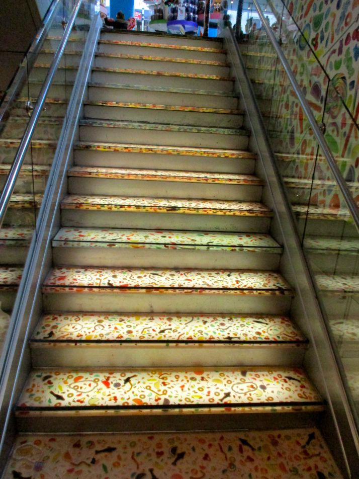 Candy Embedded Stairway