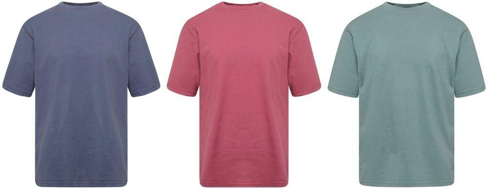 Garment Dyed 100/% Cotton Unisex Boys Girls Children T Shirt Tops 3 New Colours