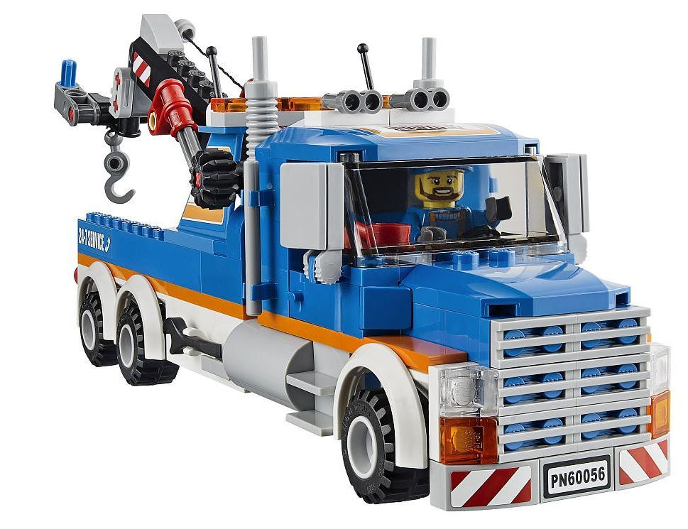 lego-60056-tow-truck-city-1 | Mini Truck | Pinterest | Tow truck and ...