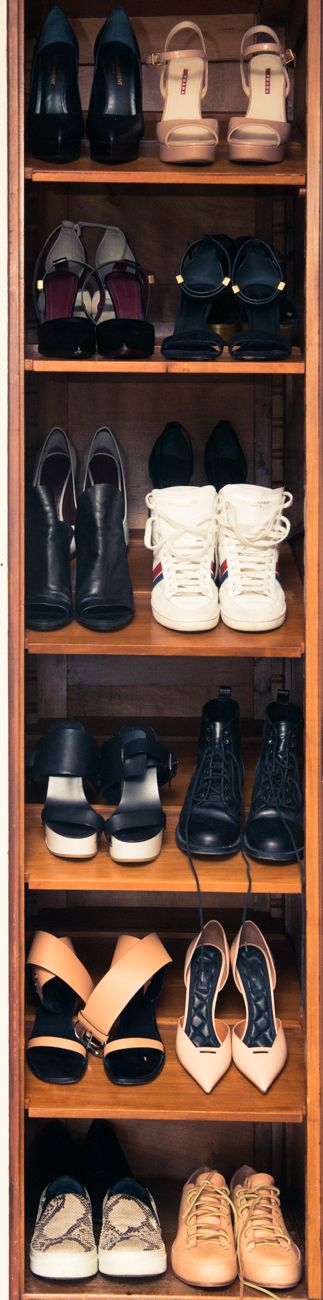 """""""I think my shoes would say they're tired!"""" http://www.thecoveteur.com/rosetta-getty/"""