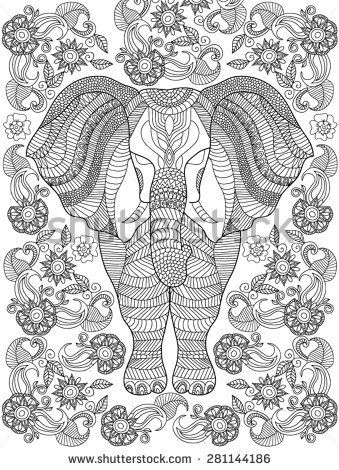 Tribal Print Coloring Pages Rk Rsyr Zcpeen » Uditrace.com - Stock ...