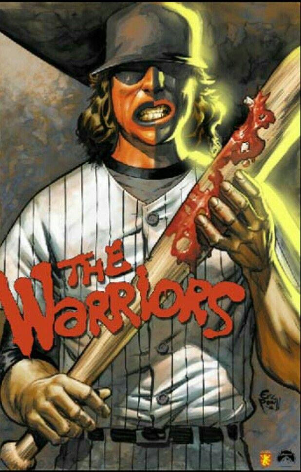 Cool Artwork Of The Baseball Furies Movie Artwork Warrior Movie Movie Art