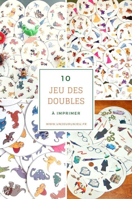 10 versions du jeu des doubles imprimer gratuitement activit de peinture dobble jeux et - Regarder 7 a la maison gratuitement ...