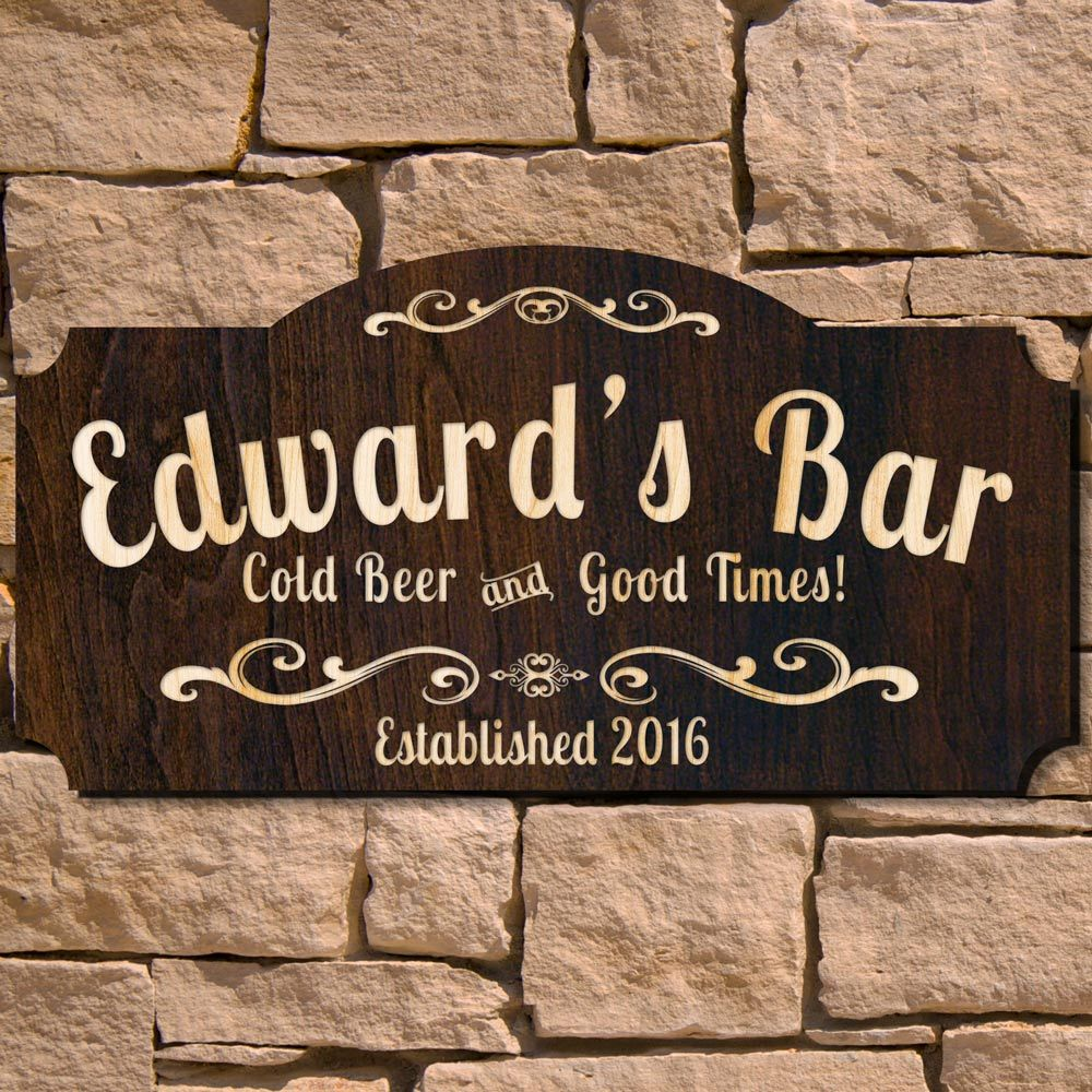 Home Bar Signs: Some Say They Were Born A Few Decades Too Late And Pine