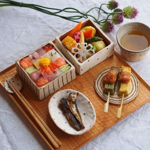 Mosaico de Sushi - Japão.