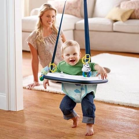 This Bumper Jumper from Graco gives your baby a place to jump for ...