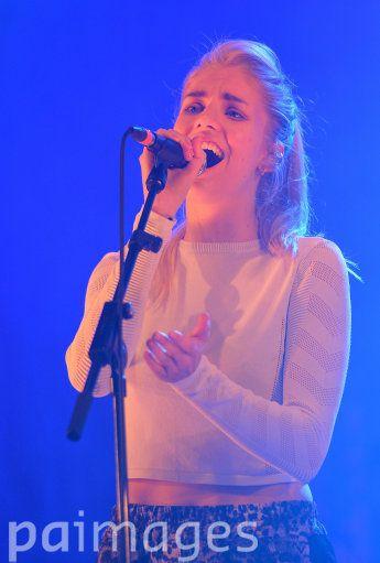 London Grammar performing during Radio 1's Big Weekend at Glasgow Green, Glasgow.