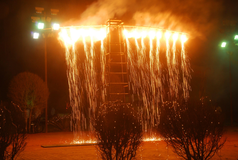 Niagara Fall (cold fire)..