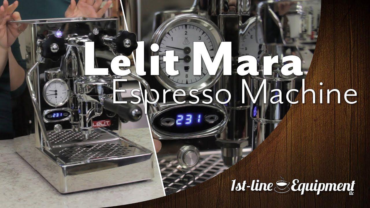 Lelit Mara Espresso Machine Espresso machine, Machine