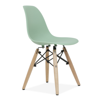 Delightful Charles Eames Style Kids Peppermint DSW Chair   Charles Eames From My Haus  UK
