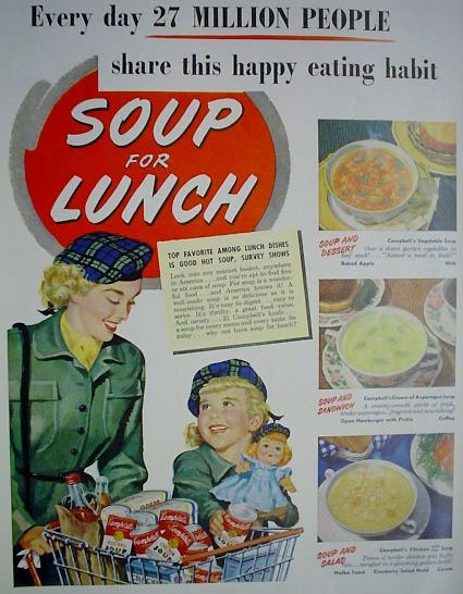 soup for lunch