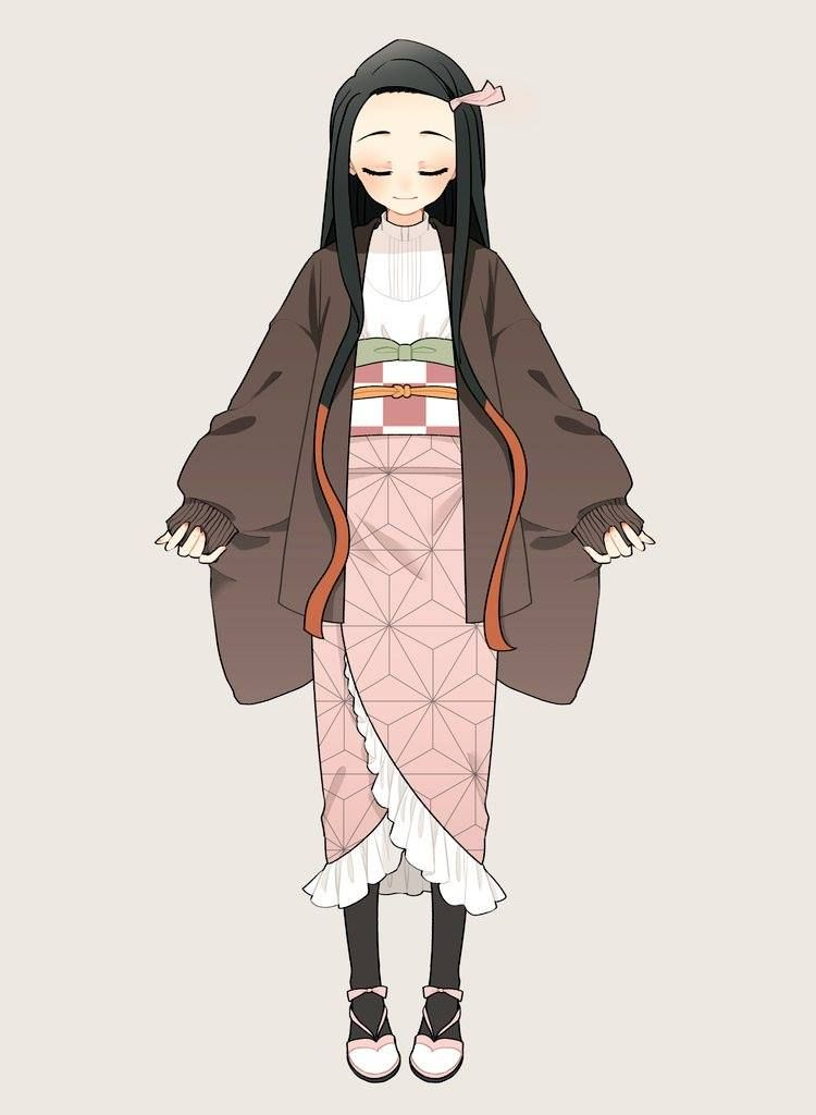 artist 花月 和ンピ販売中 twitter haruharu sunny アニメの服装 日本のファッション 可愛い 服装
