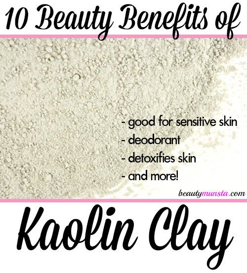 10 Beauty Benefits Of Kaolin Clay For Skin Hair And More Beautymunsta Free Natural Beauty Hacks And More Kaolin Clay Organic Skin Care Natural Beauty Tips