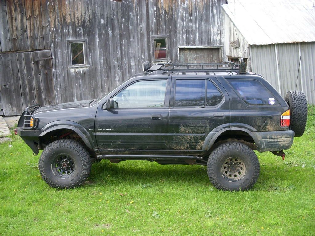 Check Out Customized Rodeoreds 1999 Isuzu Rodeo Photos Parts Specs Modification For Sale Information And Follow Rodeored In Montreal QC Any Latest