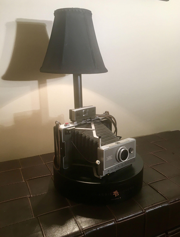 Vintage Polaroid Land Camera Lamp