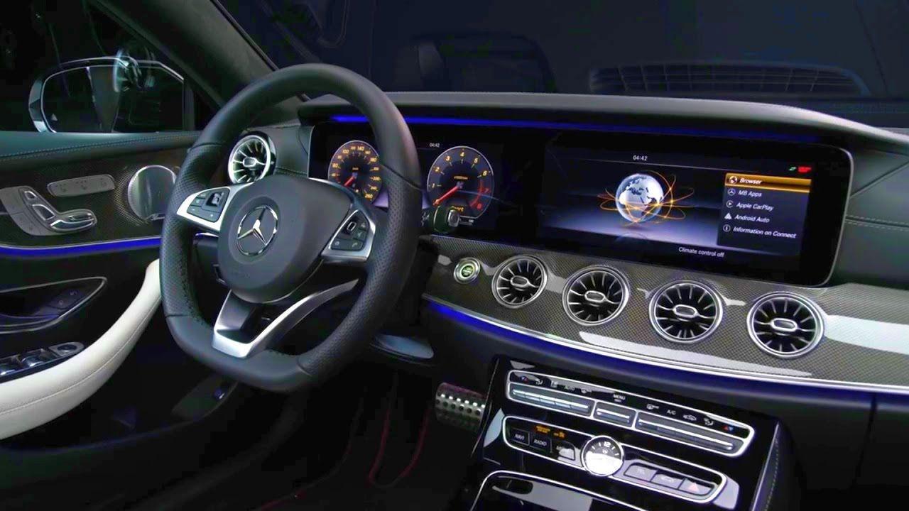 2018 Mercedes Benz E Class Coupe Edition1 Interior Trailer Mercedes Benz Benz E Class Benz