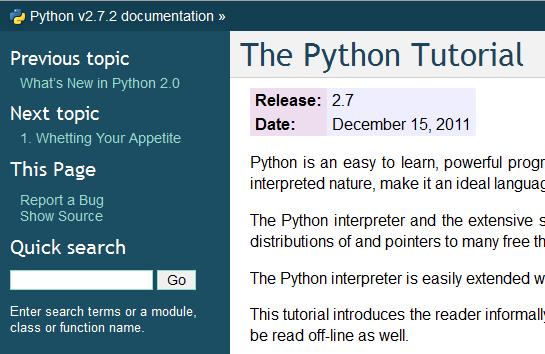 BeginnersGuide - Python Wiki
