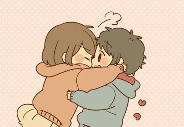 Pin By Kisawa On Sundo Ni Naru Cute Chibi Couple Anime