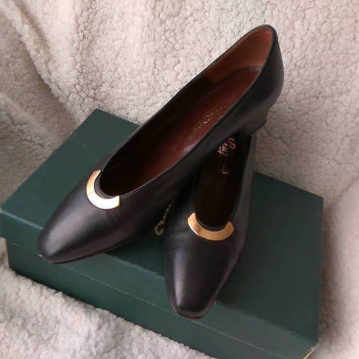 Piel Zapatos Salón Zapatos ChicfyZapatosDe Negra OTkXPZui
