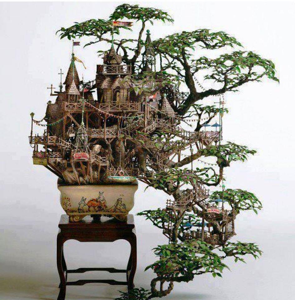 """Awesom fairy home"" via Music for Deep Meditation FB"