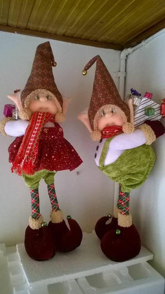 Manualidades Duendes De Navidad.Duendes Manualidades Manualidades Navidad Elfos De