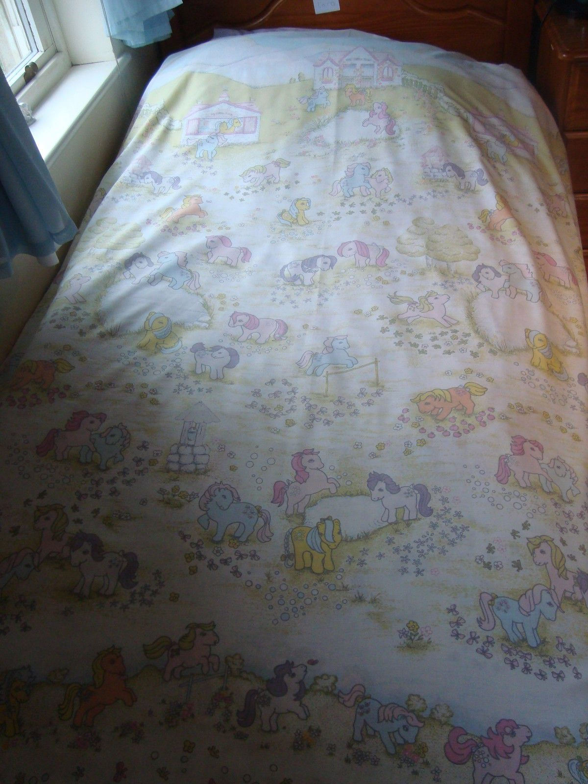 Vintage My Little Pony Single Duvet Cover Ebay Bedroom Vintage Single Duvet Cover Little Girl Bedrooms