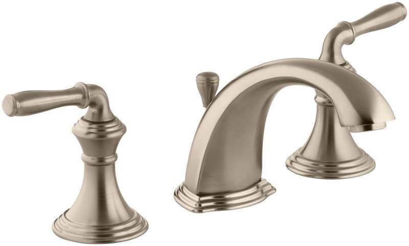 Kohler K 394 4 Widespread Bathroom Faucet Bathroom Faucets