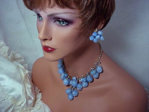 Vintage Juliana   Demi Spectacular Blue Dancing by bodaciousjewels, $425.00